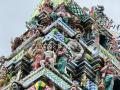 用玻璃造成的印度教神庙