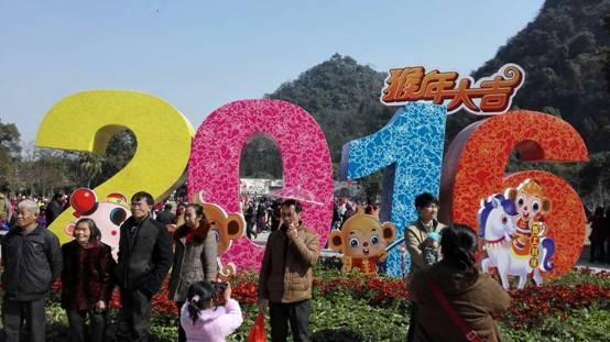 桂林春节黄金周高铁与自驾旅游接待创新高