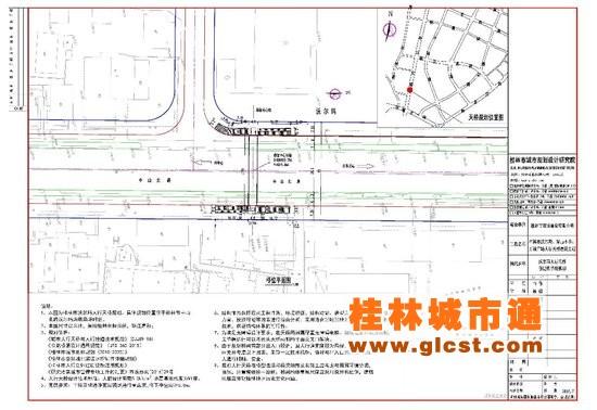 桂林市区三个地段将建人行天桥 规划方案在公示