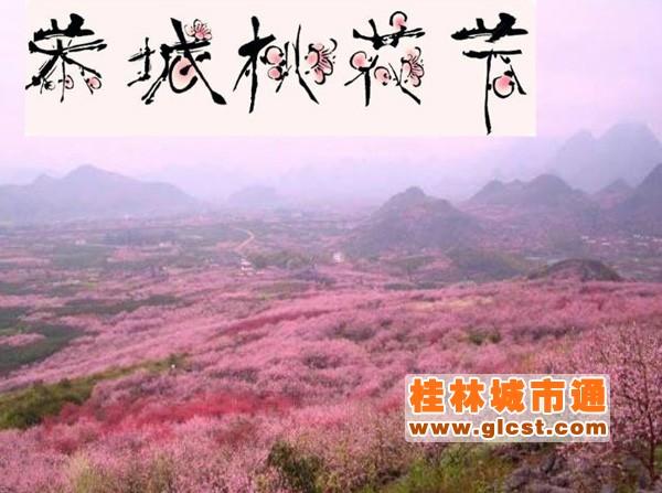 2017恭城桃花节