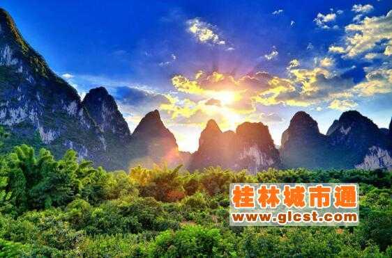 桂林山水甲天下课文