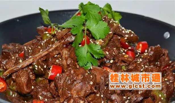桂林美食:全州醋血鸭